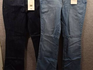 lot of 2 New w  Tags Womens Clothes   levis Womens Jeans Size 10S