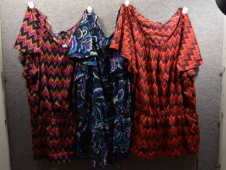 lot of 3 Womens Clothes   Beverly Drive Womens Shirts Size 16 18