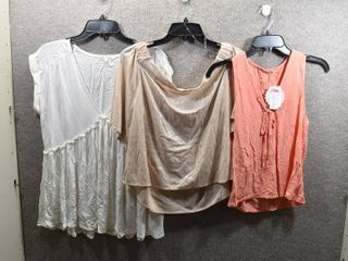 lot of 3 Womens Clothes   GB Top Size Xl  Soprano Women s Top Size Xl  Copper Key Women s Top Size Xl