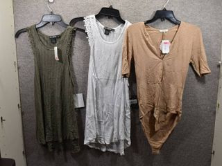 lot of 3 Womens Clothes   Miss Chievous Top Size Xl  Soprano Women s Top Size Xl  Miss Chievous Women s Top Size Xl