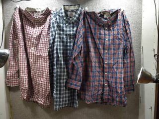 lot of 3 New w  Tags Big   Tall Mens Clothes   Stafford Dress Shirt Size Xl  Stafford Dress Shirt Size Xl  Stafford Dress Shirt Size Xl