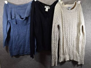 lot of 3 Womens Clothes   Route 66 Women s Sweater Size S  Croft   Barrow Women s Sweater Size S  Croft   Barrow Women s Sweater Size S