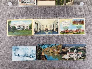 lot of 10 Vintage Postcards   Washington DC  Pennsylvania   New York   Historical Buildings