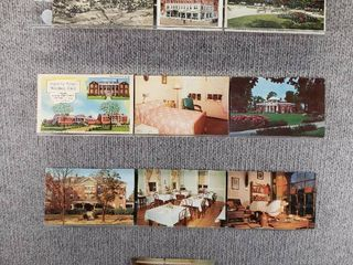 lot of 10 Vintage Postcards   Pennsylvania  New York  Virginia   Postmark 1924  1951 Historical