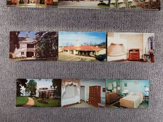 lot of 10 Vintage Postcards   Virginia   Postmark 1955  1957 landmarks