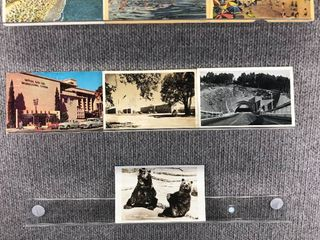 lot of 10 Vintage Postcards   California   Postmark 1964  1936  1951 Building  landscape   Beaches   Includes Real Picture Postcard s