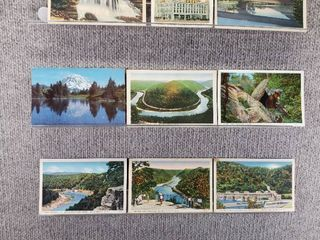 lot of 10 Vintage Postcards   Washington   W Virginia   Waterways   Capital