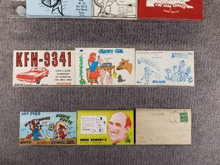 lot of 10 Advertising Vintage Postcards   Restaurants  CB   Auctions   Postmark 1943