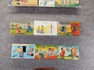 lot of 10 Vintage Postcards   Funny   Comical   Postmarks 1953  1909  1911