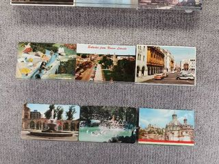 lot of 10 Vintage Postcards   Mexico   Postmark 1970  1980