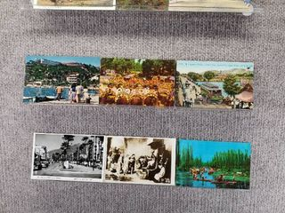 lot of 10 Vintage Postcards   Mexico   Postmark 1952  1982   Includes Real Picture Postcard s