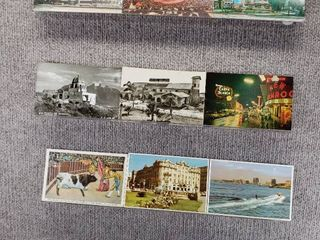 lot of 10 Vintage Postcards   Mexico   Postmark 1942 1944   Includes Real Picture Postcard s
