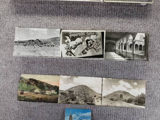 lot of 10 Vintage Postcards   Mexico   Postmark 1911   Includes Real Picture Postcard s