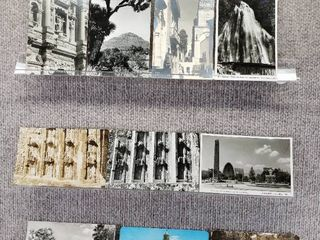 lot of 10 Vintage Postcards   Mexico   Postmark 1960  1978   Includes Real Picture Postcard s