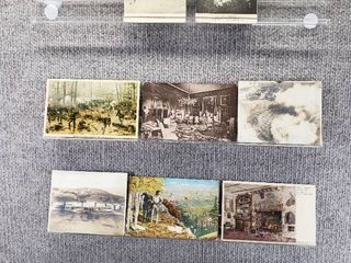 lot of 10 Vintage Postcards   lee Mansion  Robert Thoreau House   Includes Real Picture Postcard s