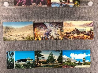 lot of 10 Vintage Postcards   California   Postmark 1956 Buildings   landscape
