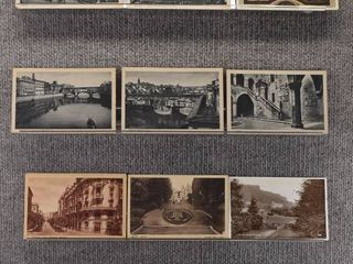 lot of 10 Vintage Postcards   Belfast  San Marco   landscape   Includes Real Picture Postcard s