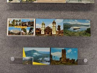 lot of 10 Vintage Postcards   Panama  British Columbia  Mexico   Tourist Attractions   landscape