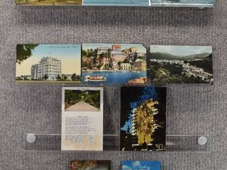 lot of 10 Vintage Postcards   Tokyo  Australia  Bermuda   Tourist Attractions   landscape