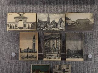 lot of 10 Vintage Postcards   Foreign Postcards   Tourist Attractions   landscape   Includes Real Picture Postcard s