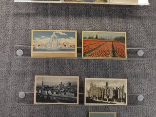 lot of 9 Vintage Postcards   Foreign Postcards   Tourist Attractions   landscape