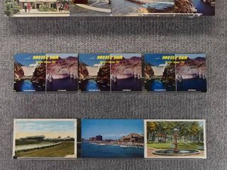 lot of 13 Vintage Postcards   Maryland  NJ  Hoover Dam   Tourist Attractions   landscape