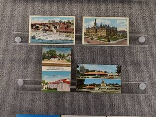 lot of 9 Vintage Postcards   Missouri   Temples  Arena