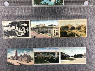 lot of 10 Vintage Postcards   Canada   Postmark 1926 Buildings  lakes   Scenic