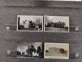 lot of 7 Vintage Postcards   Missouri   Postmark 1908 Schools   Courthouse   Includes Real Picture Postcard s s
