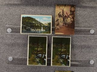 lot of 8 Vintage Postcards   Missouri   Postmark 1950 lake of the Ozarks