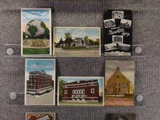 lot of 11 Vintage Postcards   Kansas   Oklahoma   Postmark 1906  1924  1931   Includes Real Picture Postcard s s