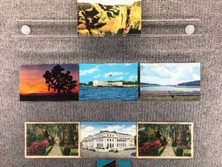 lot of 10 Vintage Postcards   Alabama   Arizona   Gardens  Post Office  Scenic landscapes