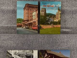 lot of 5 Vintage Postcards   Arkansas   Poshmark 1970  1966 Hot Springs   landscape   Includes Real Picture Postcard s s