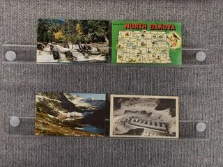 lot of 7 Vintage Postcards   North Dakota  Montana  New Mexico   Postmark 1972  1971  1970 landscape