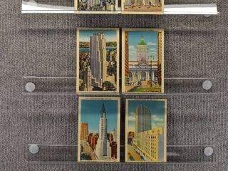 lot of 7 Vintage Postcards   New York   Rockefeller Center   Buildings
