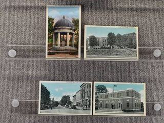 lot of 6 Vintage Postcards   Tennessee   Postmark 1937  Schools   Includes Real Picture Postcard s s