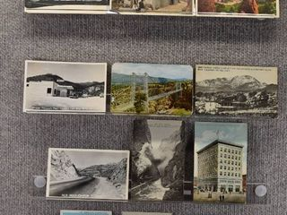 lot of 12 Vintage Postcards   Colorado   Postmark 1908  1936  1955  1956 landscape   Includes Real Picture Postcard s s