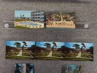 lot of 10 Vintage Postcards   Florida   Postmark 1969 1966  1967 Beaches   landscape