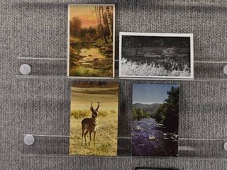 lot of 7 Vintage Postcards   People Places   Things   Postmark 1995  1958 1959    Includes Real Picture Postcard s s