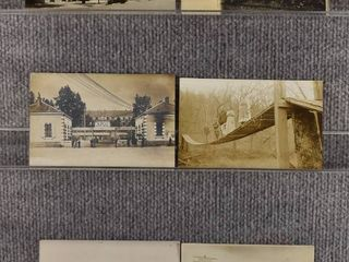 lot of 6 Vintage Postcards   Farmers   Noted 1912 Postmark 1922   Includes Real Picture Postcard s s