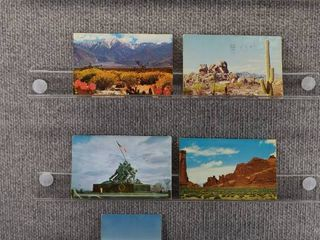 lot of 7 Vintage Postcards   California   Postmark 1964  1957  1956 Mountains   Western