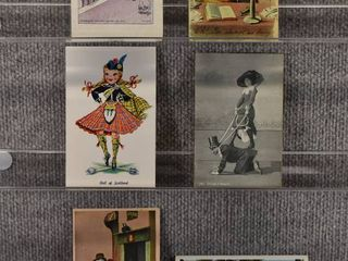 lot of 6 Vintage Postcards   Funny   Comical   Postmark 1909 1932  1908