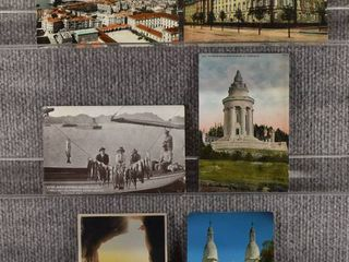lot of 5 Vintage Postcards   Mexico   German   landscape   Scenic