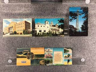 lot of 9 Vintage Postcards   Canada   Arkansas   little Rock  landscape   Resorts