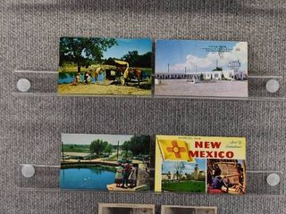 lot of 8 Vintage Postcards   New Mexico   Postmark 1958  1956    Includes Real Picture Postcard s s