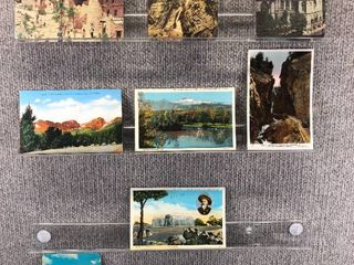 lot of 10 Vintage Postcards   Colorado   Postmark 1948 Caves   landscape   Includes Real Picture Postcard s