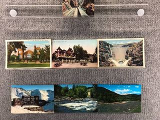 lot of 10 Vintage Postcards   Colorado   Postmark 1953 Boulder   Scenic
