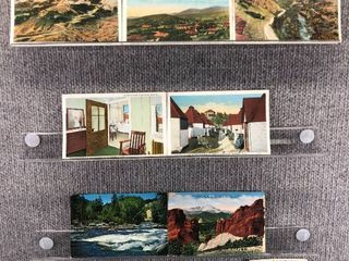 lot of 10 Vintage Postcards   Colorado   Postmark 1989 Woodmen   Pikes peak