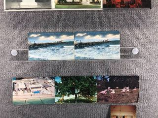 lot of 10 Vintage Postcards   Florida   Georgia   Postmark 1954 1955 Oceanside   landscape
