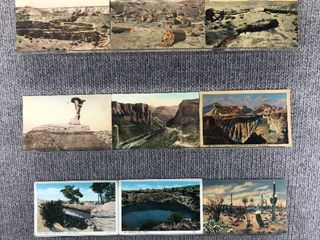 lot of 10 Vintage Postcards   Arizona   Scenic landscapes